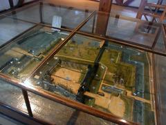 上田城・南櫓2階・城模型.jpg