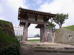 松前城・天神坂門.jpg