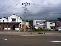 松城バス停より松前城を見る.jpg